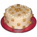 Butterscotch Cake - 1kg (The Cake World)