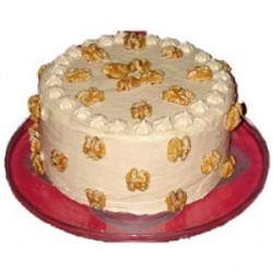Butterscotch Cake - 1kg (The Cake World)