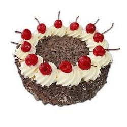 Black Forest Cake - 1kg (The Cake World)
