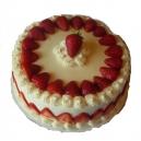 Strawberry Cake (Donuts)