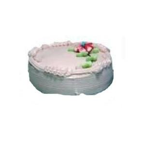 Strawberry Eggless Cake (Donuts)