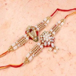 Set of Two Pearl Bracelet...