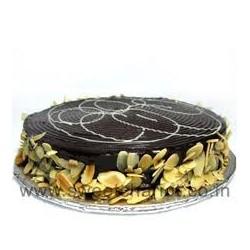 Choco Almond Cake 1 kg (Fazzer)