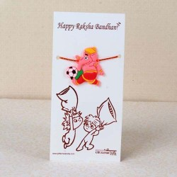 Cartoon Ganesha Rakhi for Kids