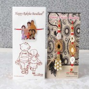 Designer Family Combo of Rakhi