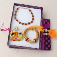 Marvellous Bhaiya Bhabhi with Cartoon Rakhi Family Combo