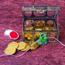 Ben10 Rakhi with Gold Coin...
