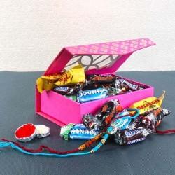 Rakhi Gift of Miniature...