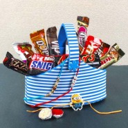 Imported Chocolate Treat on Rakhi