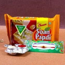 Compact Rakhi Thali and...