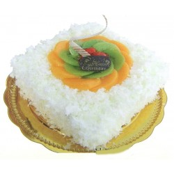 White  Forest Cake - 1kg (Shyam Swaad)