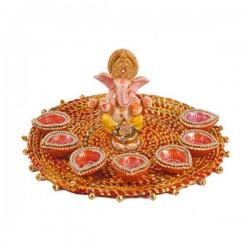 Ganesha Diya Set