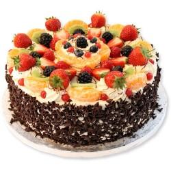 Mix Fruit Gateau 1 kg (Upper Crust)