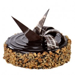 Walnut Truffle Cake 1 kg (Upper Crust)