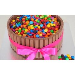 Kit Kat Cake 1 kg (Upper Crust)