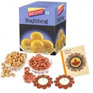 Bikano Rajbhog 1kg and Dryfruits-Diwali gifts