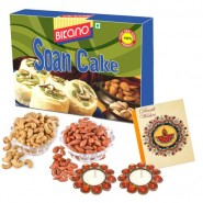 Bikano Soan Cake and Dryfruits-Diwali gifts
