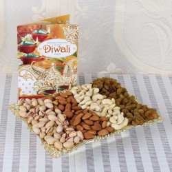Mix Dry Fruits Tray with...