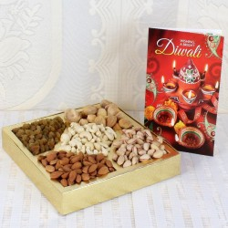 Diwali Card with Assorted...
