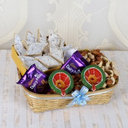 Diwali Colorful Diya with...