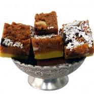 Chocolate Malai Barfi (Kaka Halwai)