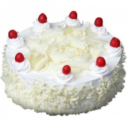 White forest Eggless Cake