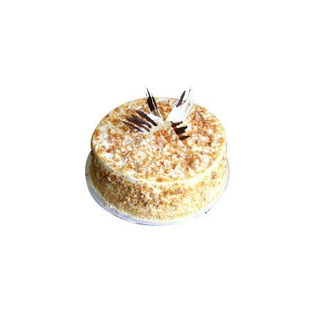ButterScotch Eggless Cake - 500 gm