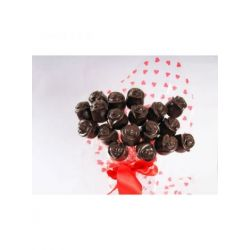 chocolate roses-pck of 18