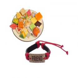 Mixed Sweets n friendship band