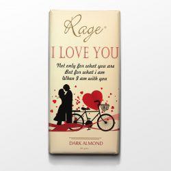 I Love You - Dark Almond Bar