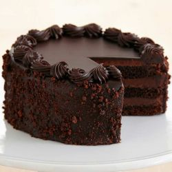 Chocolate Truffle Cake - 1 kg (K.R.Bakes)