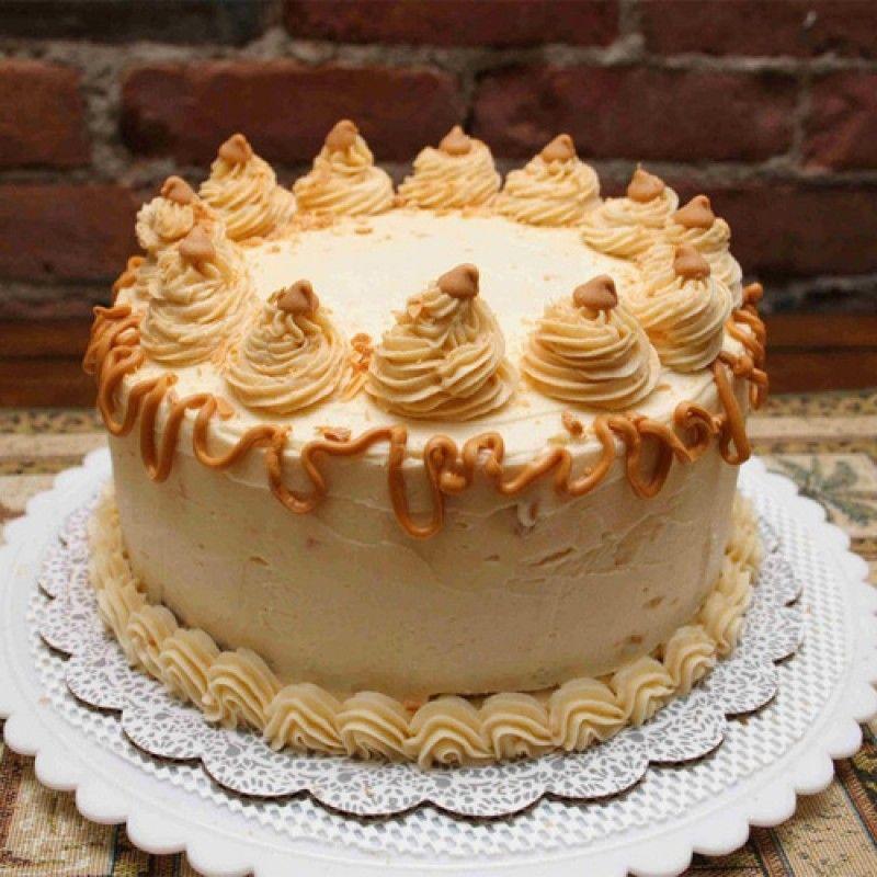 Butter Scotch Cake - 1Kg (McRennett)