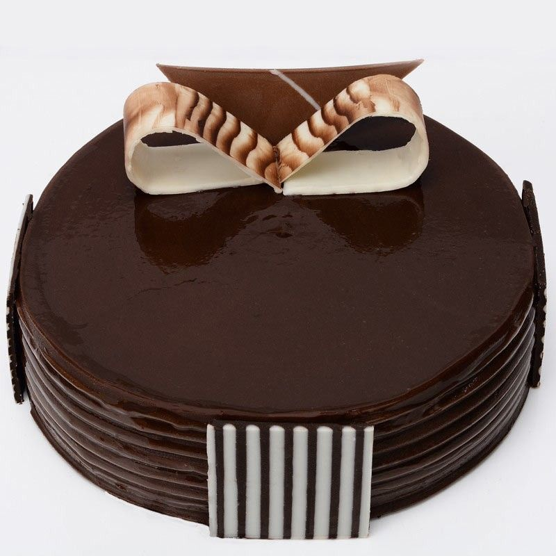 Chocolate Eggless Cake - 2 Pound (Kookie Jar)