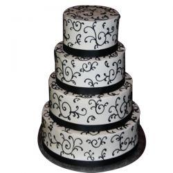 4 Tier Dream Cake - 7Kg