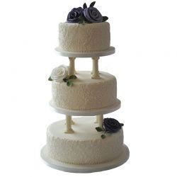 3 Tier Pillar Cake 6Kg