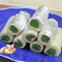 Kaju Roll - 500gm (Kaka Halwai)