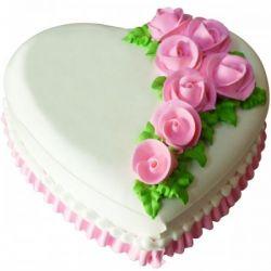 Happy Heart Cake - 2Kg