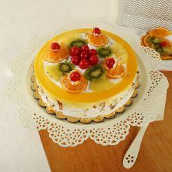 Fresh Fruit Cake 1Kg (Oven...