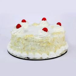 White Forest Cake - 1 kg (Amma's Pasteries)