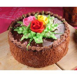 Chocolate Butter Cream Eggless Cake  - 2 Bound (Flurys)