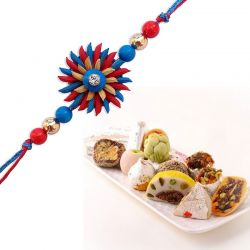 Mix kaju sweets and Rakhi