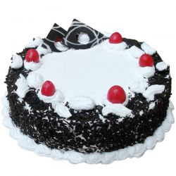 Black Forest Eggless Cake (Cakes & Bakes)