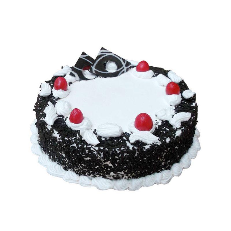Black Forest Eggless Cake (Cakes & Bakes)