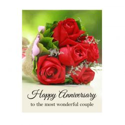 Anniversary Greeting Card