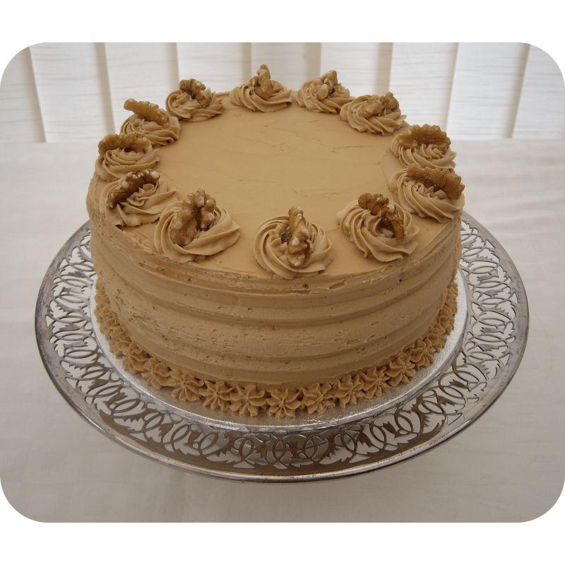 Incredible Coffee Walnut Cake Sweet Chariot Bangalore Orderyourchoice Funny Birthday Cards Online Kookostrdamsfinfo