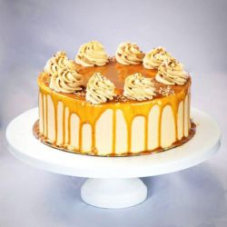 Caramel Slice Cake - 1 kg (Sweet Chariot)