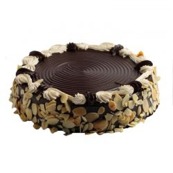 Choco Almond Cake - 1 kg (Sweet Chariot)