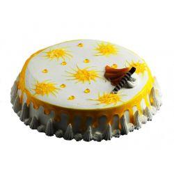 Stunning Mango Cake - 1 kg (Sweet Chariot)