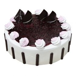 Glazed Blueberry Eggless Cake - 1 kg
