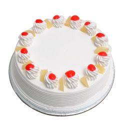 Vannila Eggless Cake (brownie point)